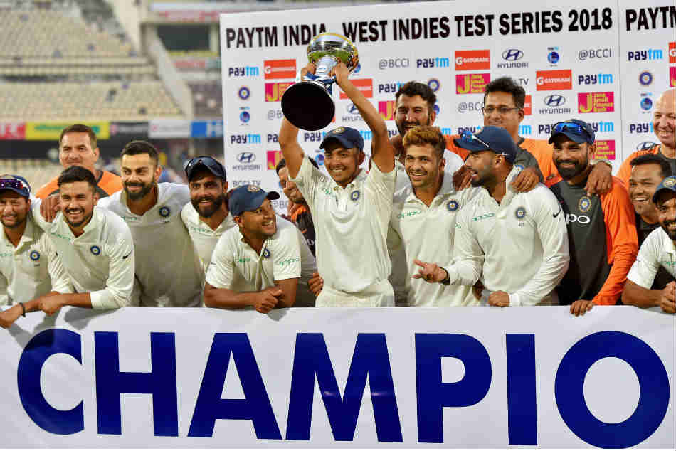 India Vs West Indies Report Card From The Test Series