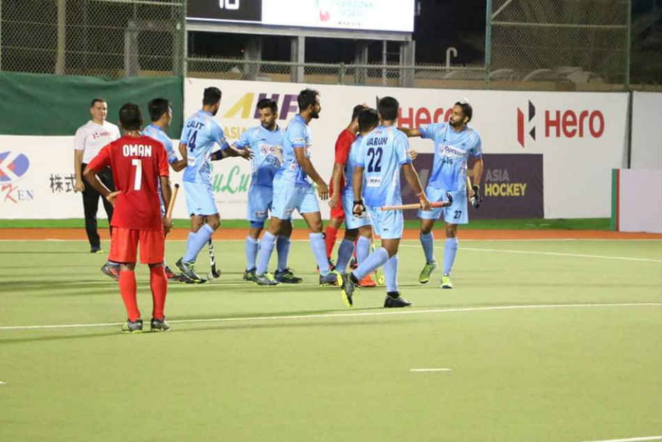 After beating Oman 11-0, Indian hockey team trains eyes on Pakistan in the Asian Champions Trophy