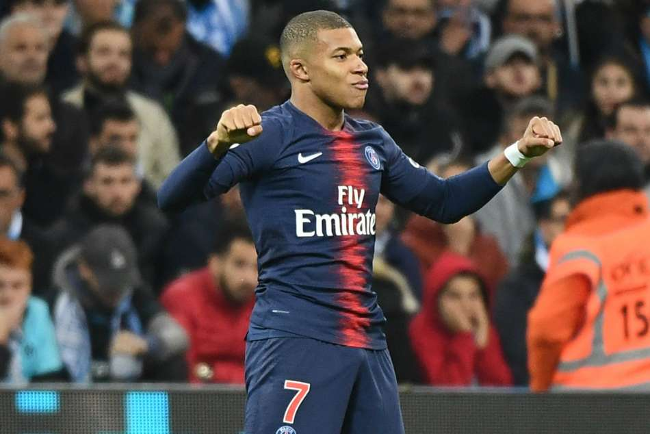 Kylian Mbappe came off the bench to give PSG the lead