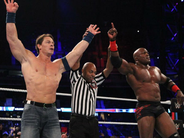 Did Lashley end his feud with KO and Elias?