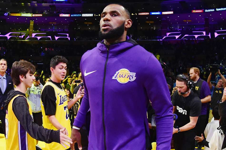 LeBron James moved to Lakers in the off season