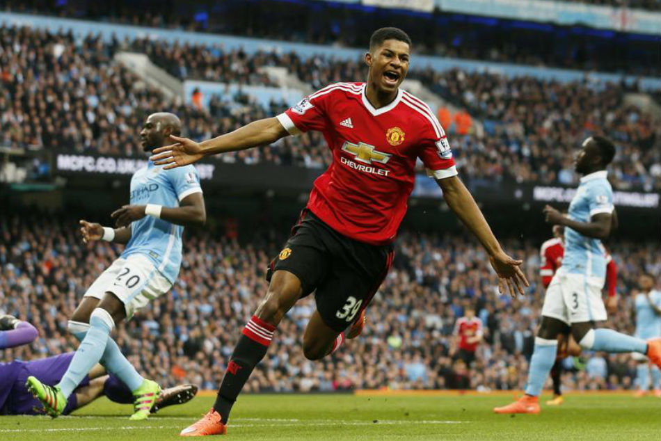 Manchester United star Marcus Rashford
