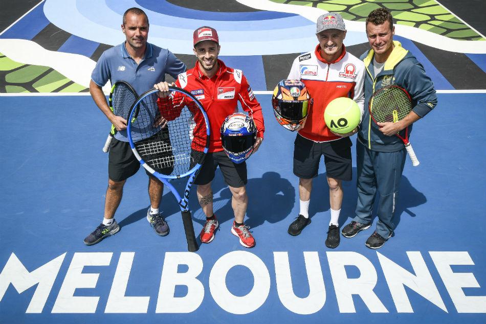 Dovizioso Miller Meet Hewitt Melbourne
