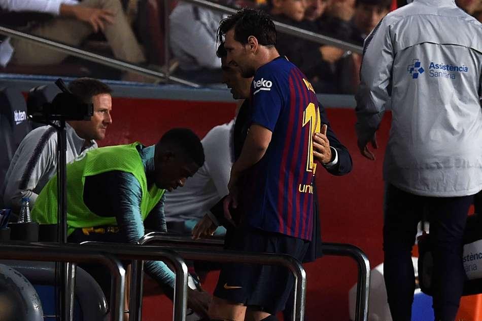 Messi Barcelona Icardi Inter