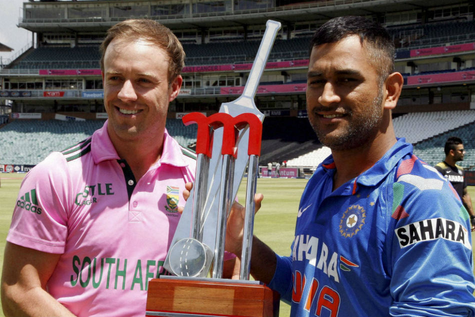 I would play MS Dhoni in my team even if hes 80, and in a wheelchair: AB de Villiers