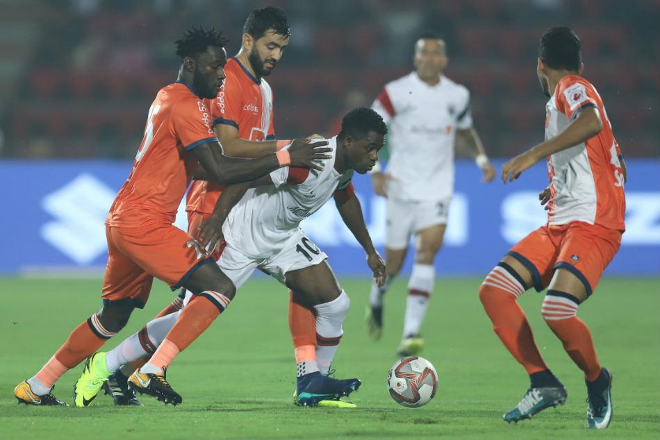 Isl Neufc Fc Goa Share Spoils Exciting Draw