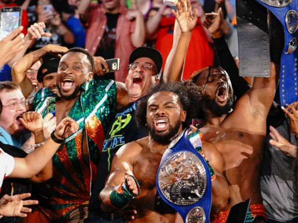 The New Day and Tag Team gold