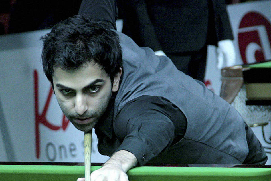 Pankaj Advani Storms Past Ju Reti Clinch Gold The Asian Tour Snooker Tour Event