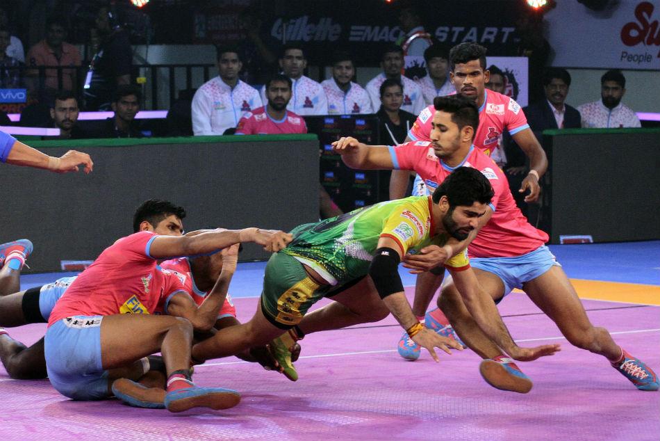 Pkl 2018 Patna Pirates Beat Jaipur Pink Panthers 41