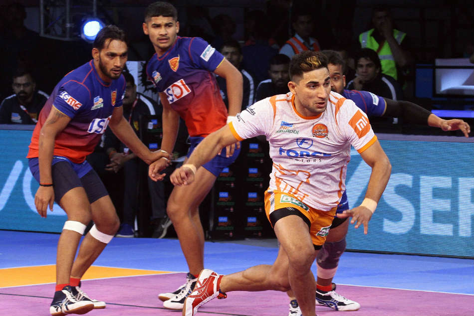 Pkl 2018 Up Yoddha Edge Past Puneri Paltan