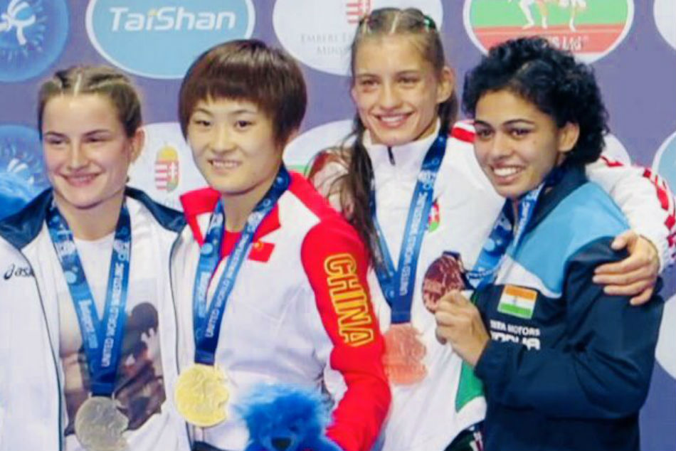 Wrestling: Pooja Dhanda clinches bronze medal at World Championships