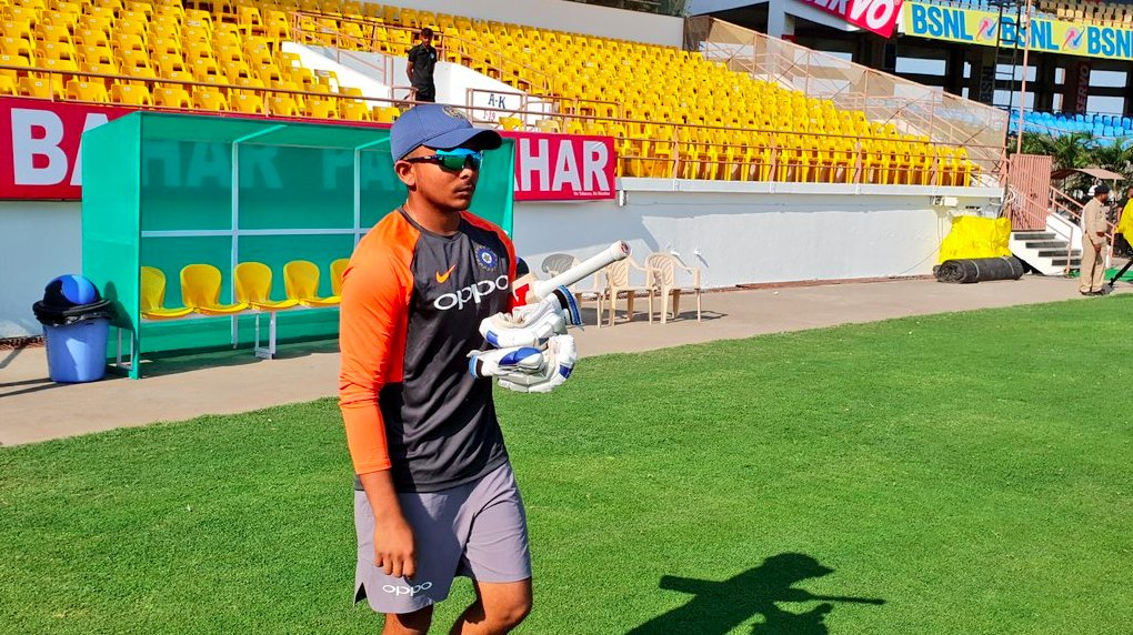 India Vs West Indies: Prithvi Shaw to make his Test debut in Rajkot, open innings with KL Rahul
