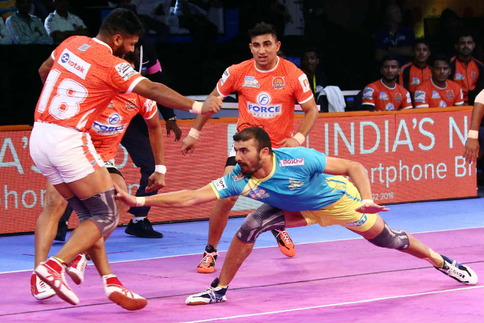 Pkl 2018 Tamil Thalaivas Edge Puneri Paltan End Losing Streak