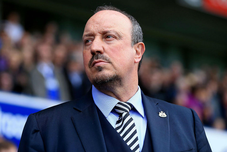 Rafael Benitez targeted by Chinese Super League club Shanghai SIPG