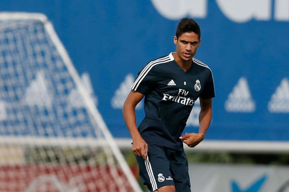 Real Madrid defender Raphael Varane