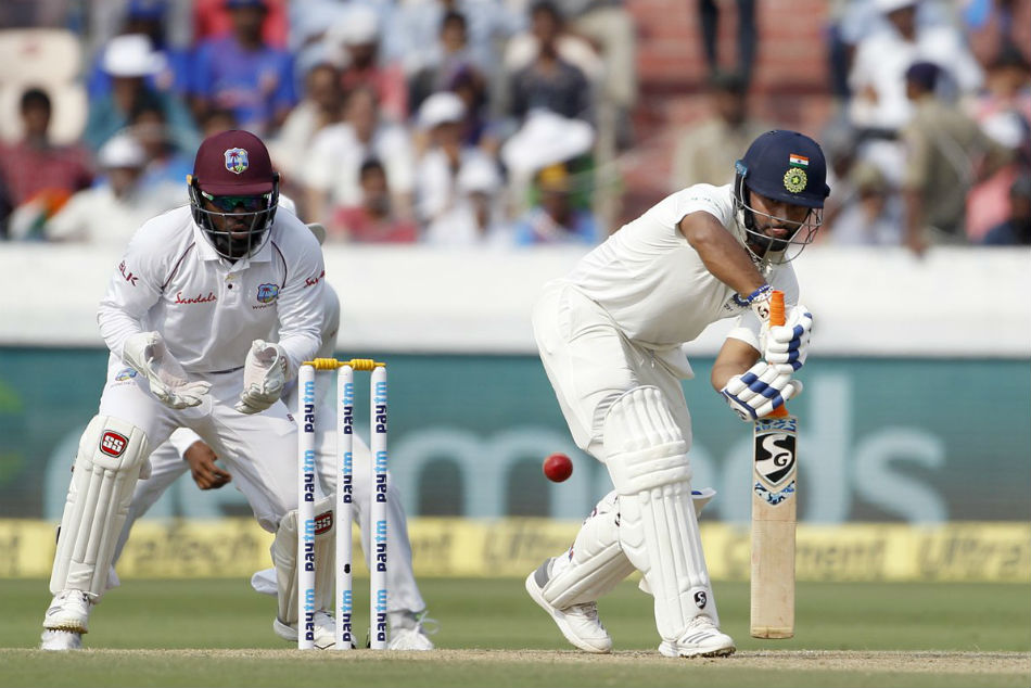Hyderabad Test, Day 2: Shaw, Rahane, Pant fifties lead Indias response - As it happened