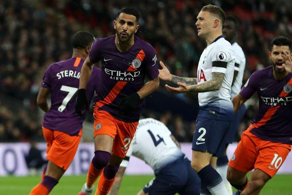 Tottenham 0 Manchester City 1 Wembley Riyad Mahrez Goal Match Report Premier League