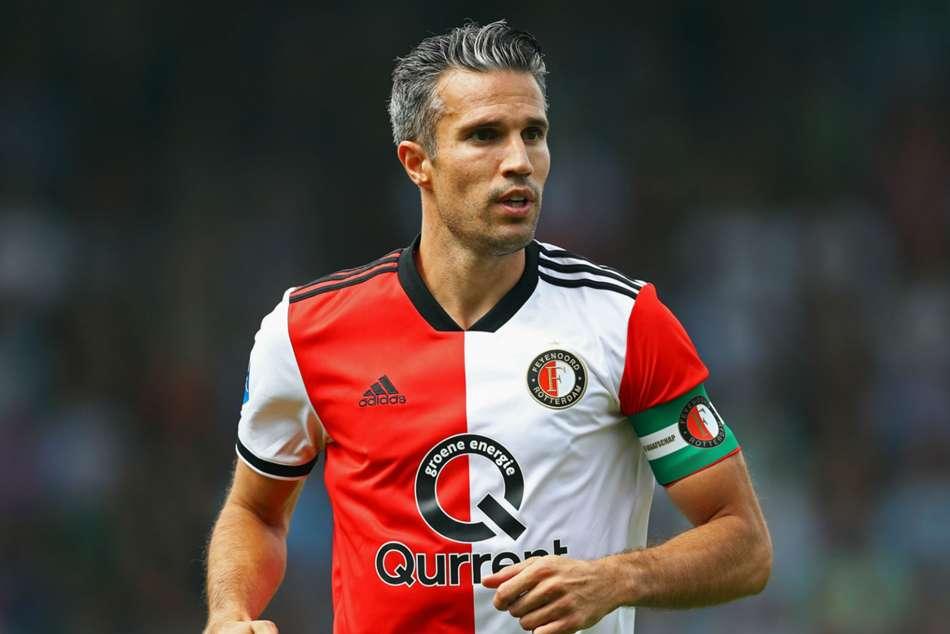 Van Persie Retire Feyenoord Arsenal Manchester United