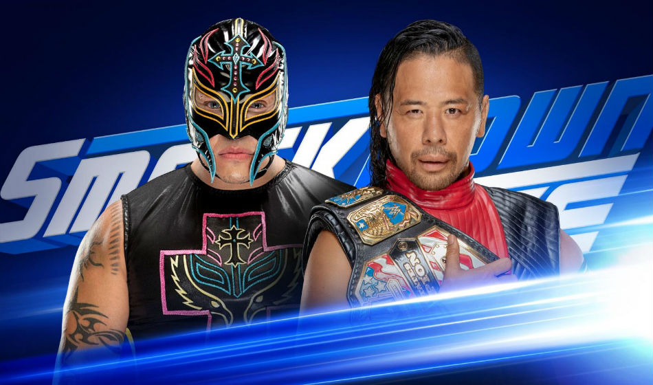 Rey Mysterio returns to face Shinsuke Nakamura (Images: WWE)