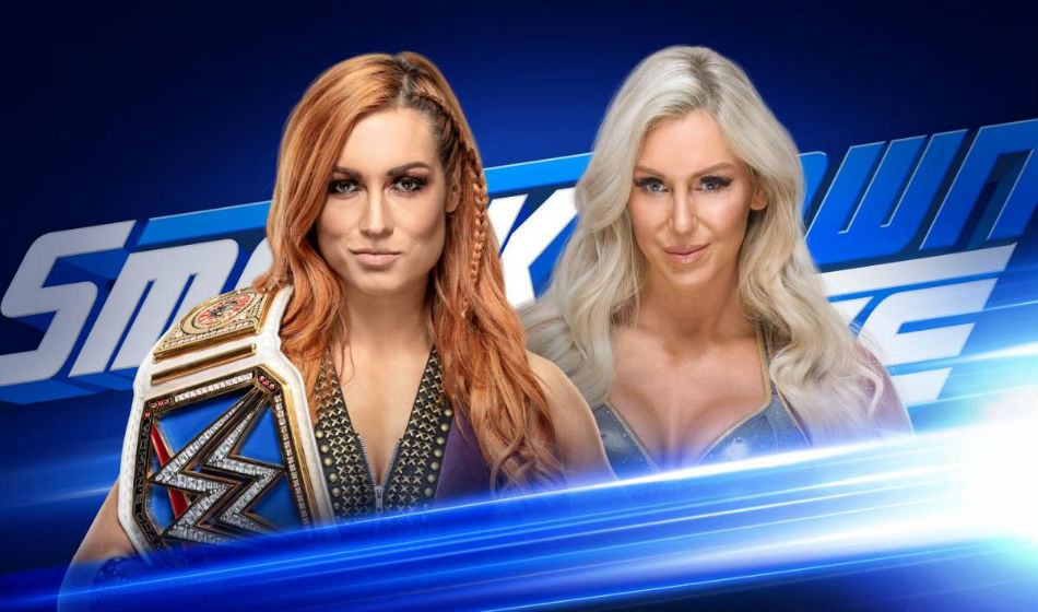 Becky Lynch defends the title tonight on Smackdown Live (image courtesy: WWE)