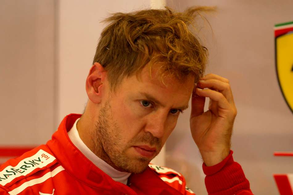 Sebastian Vettel was three-place grip penalty after Fridays first practice session