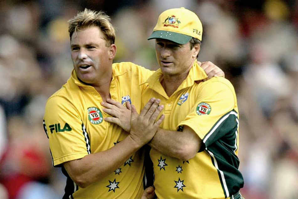 Shane Warne has reopened the rivalry book with Steve Waugh