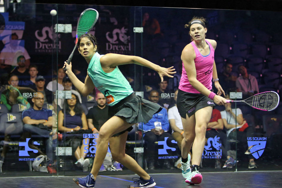 India S Campaign Us Open Squash Ends As Chinappa Bows Out