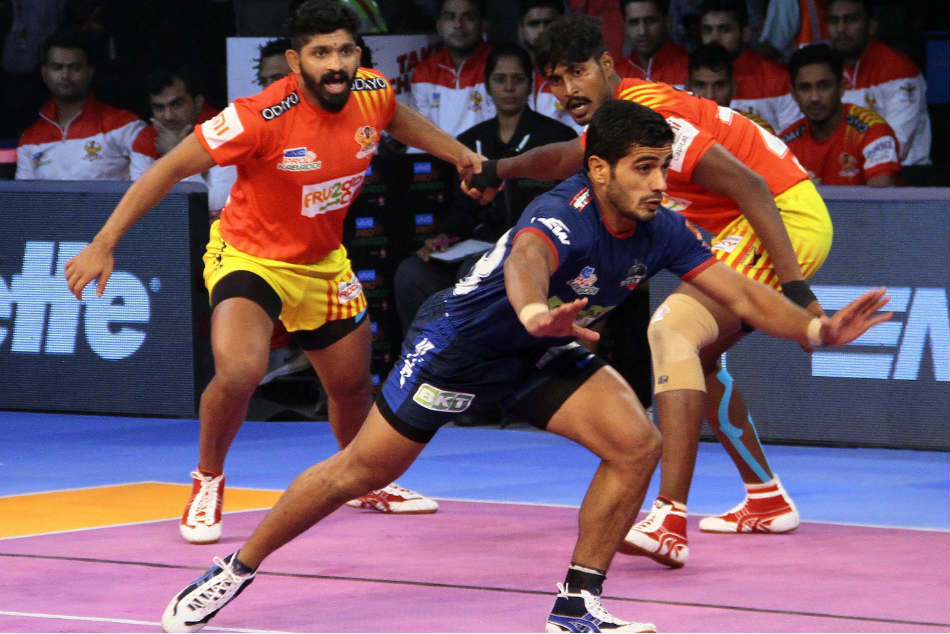 Pkl 2018 Haryana Steelers Cruise Past Gujarat Fortunegiants