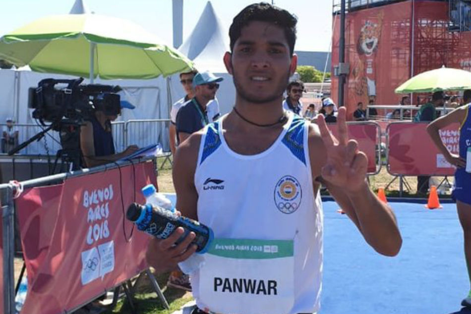 Youth Olympic Games: Suraj Panwar clinches Silver in Mens 5000m Race Walk