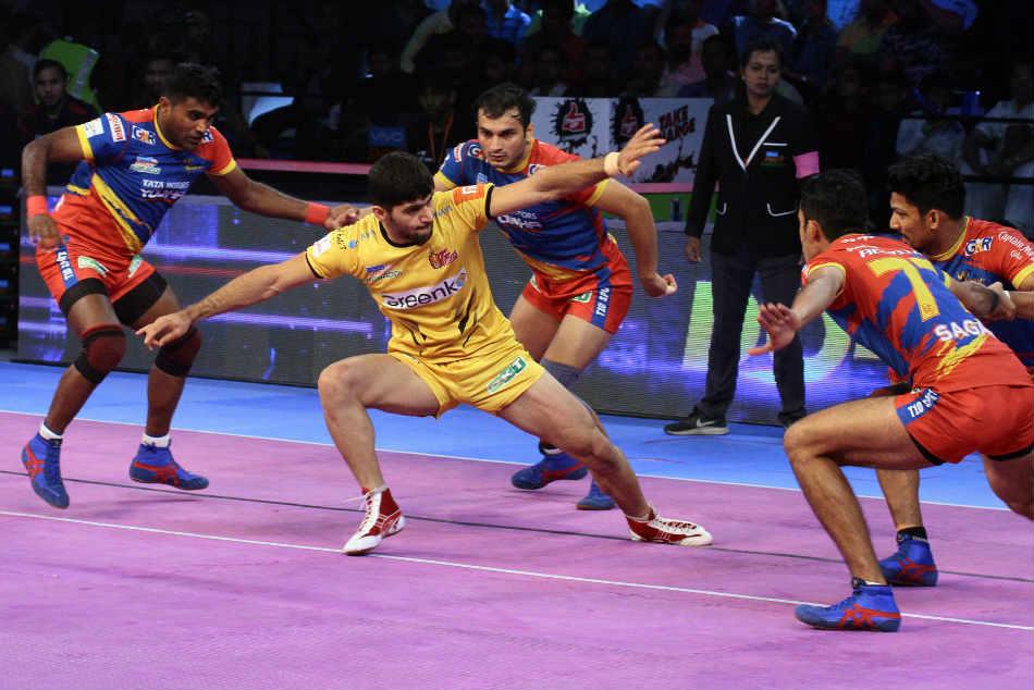 Pkl 2018 Telugu Titans Edge Past Up Yoddha