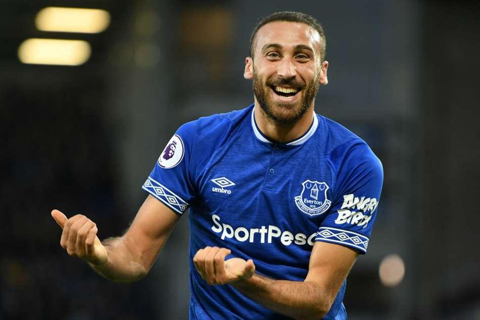 Everton Crystal Palace Calvert Lewin Cenk Tosun