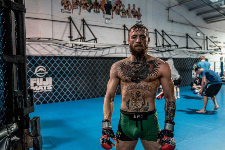 Conor McGregor (Images: Twitter and Youtube)