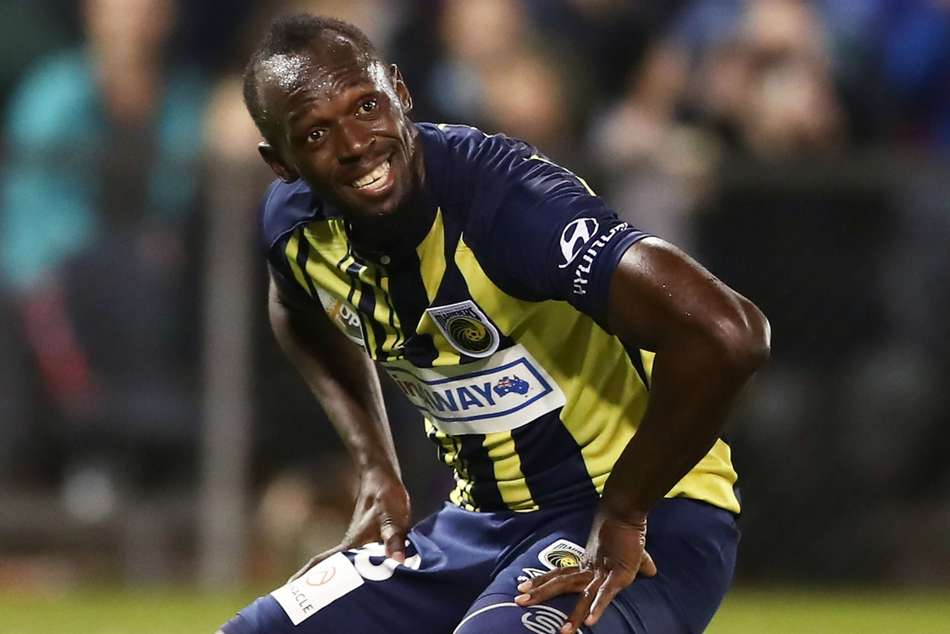 Usain Bolt on trial at Central Coast Mariners