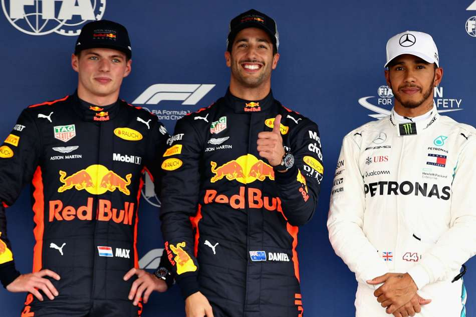 Formula One Lewis Hamilton Red Bull Mexico Preview