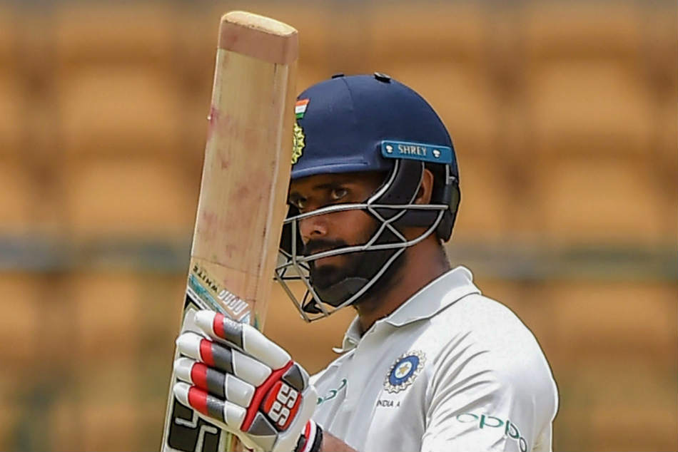 Hanuma Vihari made his second successive fifty as India B entered the Deodhar Trophy final
