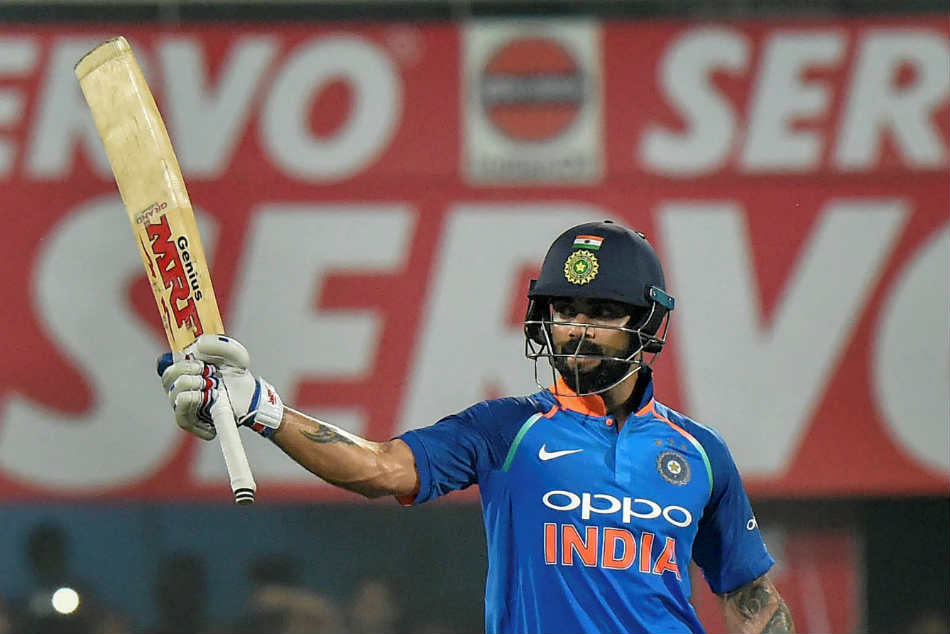 Virat Kohli made his 36th ODI century during the first ODI against the West Indies