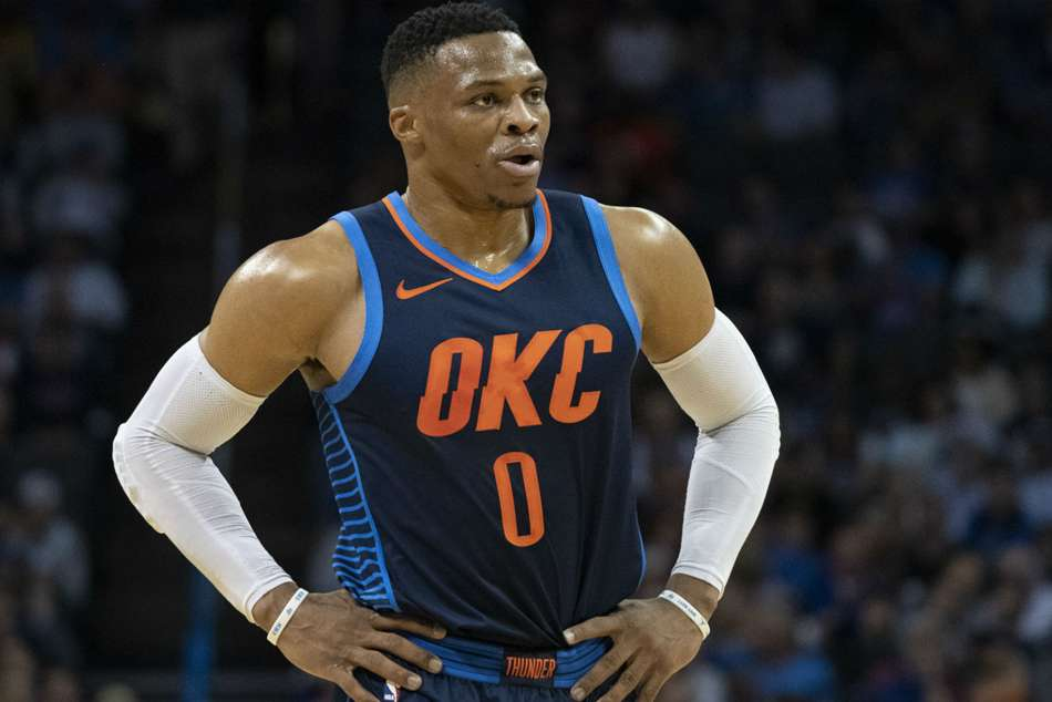 Thunder star Russell Westbrook scored game high 23 points
