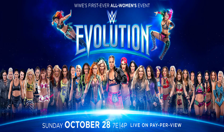 WWE Evolution 2018 poster (Images: WWE,com)