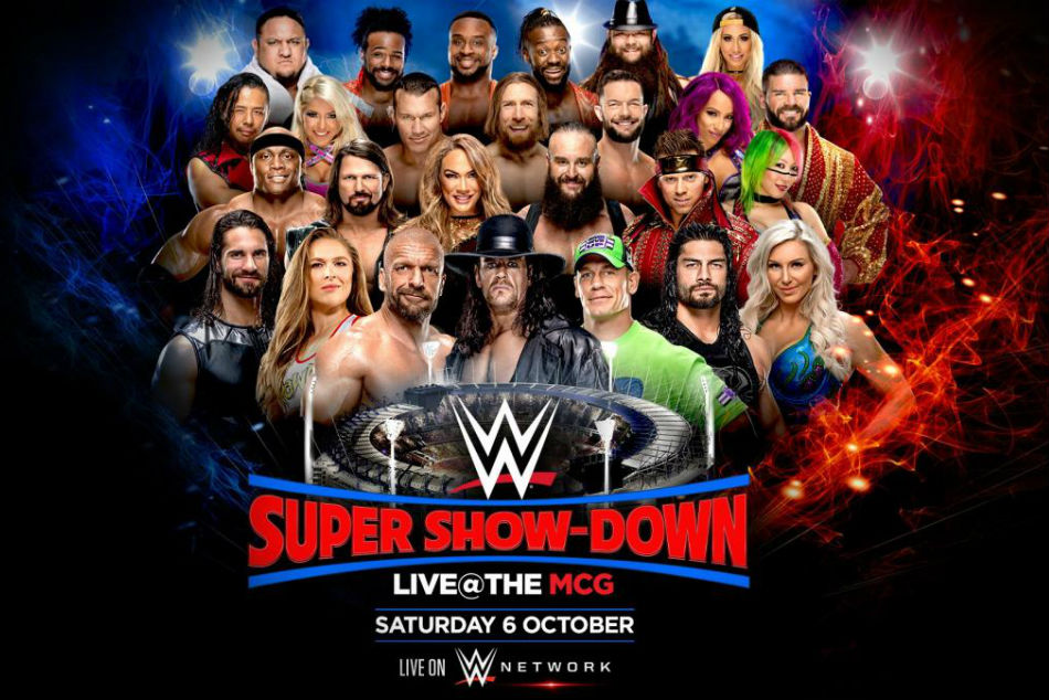 WWE Super Show-Down is live on October 6