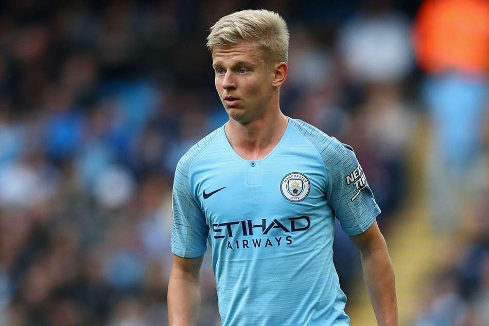 Pep Guardiola Oleksandr Zinchenko Benjamin Mendy Manchester City