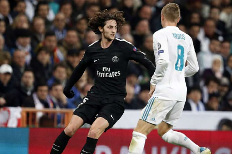 Central midfield - Adrien Rabiot (PSG)