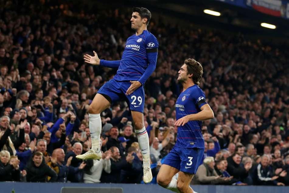 Chelsea 3 Crystal Palace 1 Morata Double Maintains Momentum