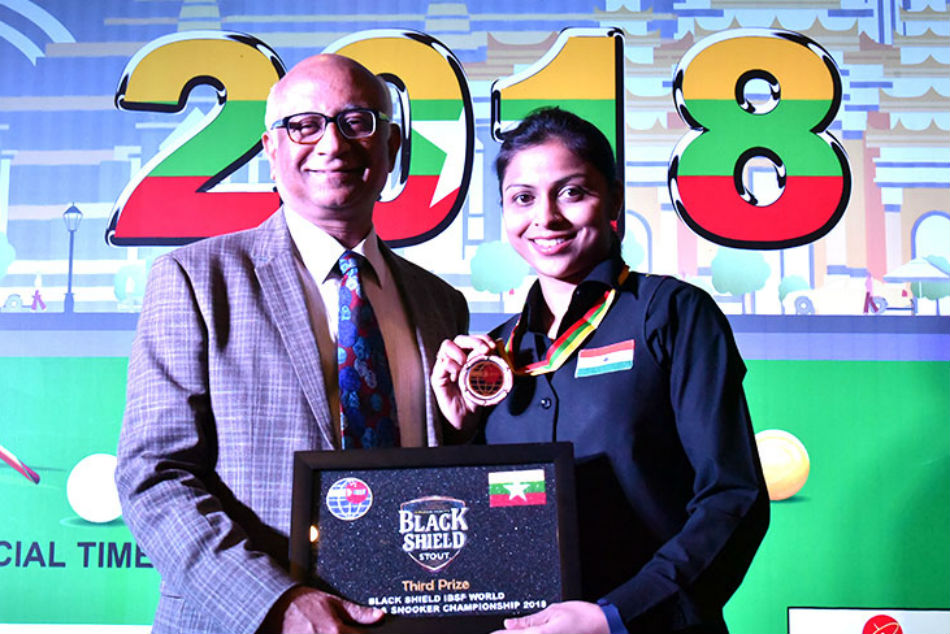 India S Amee Kamani Clinches Bronze World Snooker