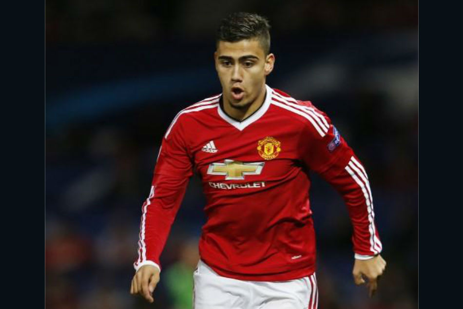 Manchester United prodigy Andreas Pereira