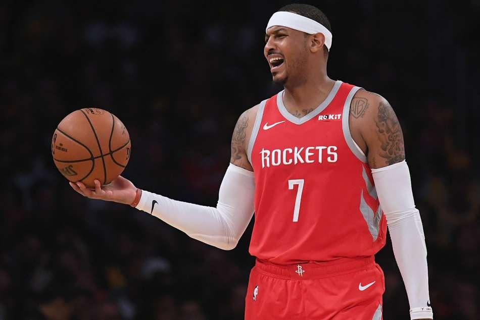 Nba News Carmelo Anthony Houston Rockets Part Ways