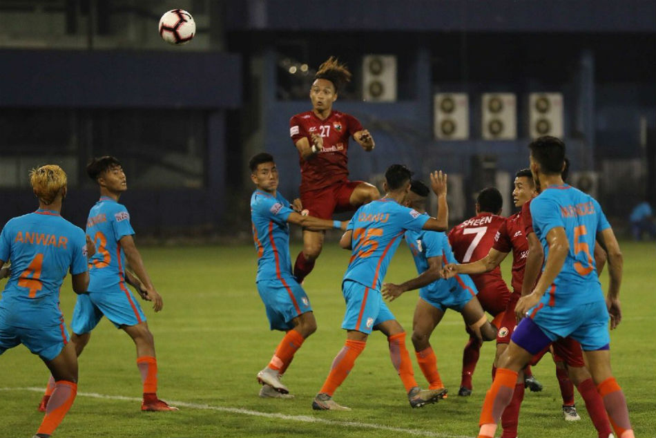 Asish Rai Helps Indian Arrows Register First Win I League