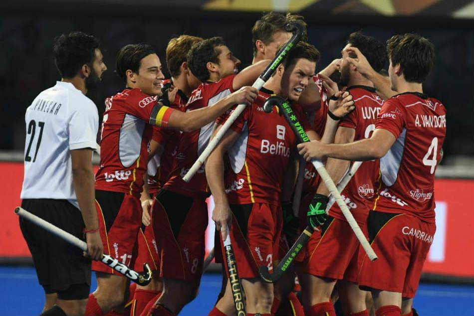 Hockey World Cup 2018: Unimpressive Belgium battle past Canada 2-1 in WC opener
