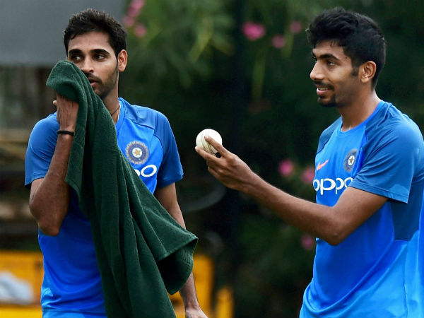 2. On Bhuvi and Bumrah's excellent form