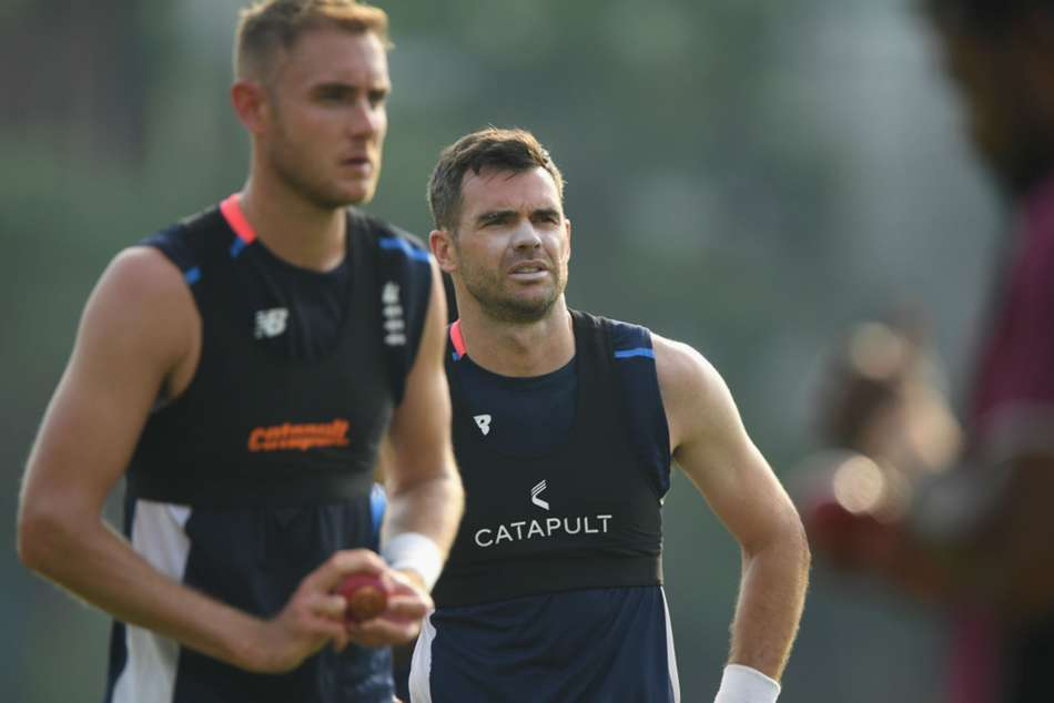 Stuart Broad to replace James Anderson