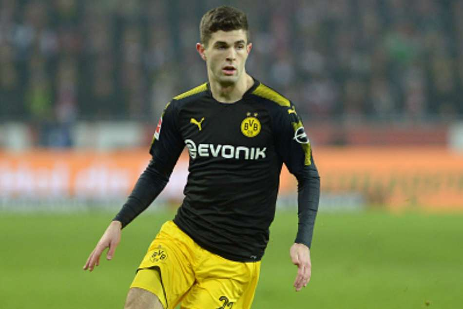 Chelsea To Sign 70m Rated Dortmund Star Christian Pulisic